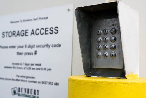 PIN Security Panel